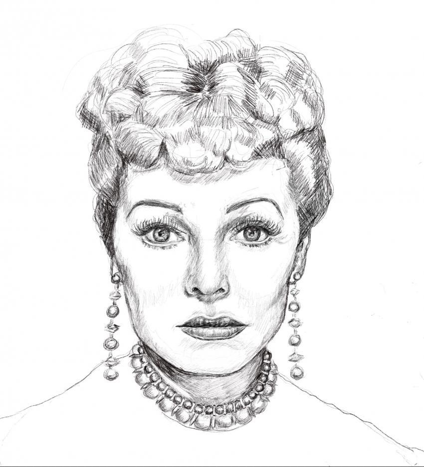 Lucille Ball by Linnette555